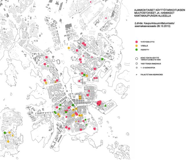 Khs_16_12_2013_-_Ajankohtaiset_käyttötarkoituksen_muutostoiveet_ja_-hankkeet_kantakaupungin_alueella_pdf__1_page_